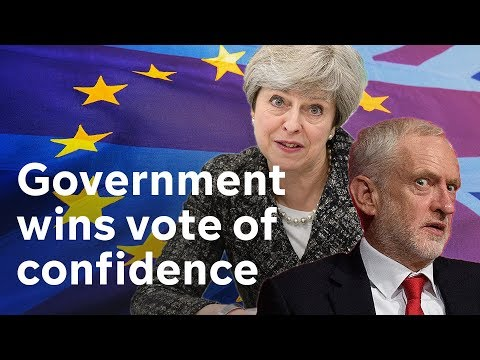 Government wins no confidence vote amid Brexit chaos #BREXIT
