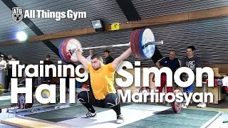 Simon Martirosyan Training Hall 2015 European Championships
