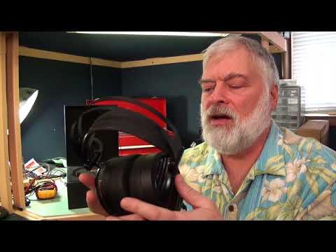 Advanced Alpha Over Ear Planar Magnetic Headphones