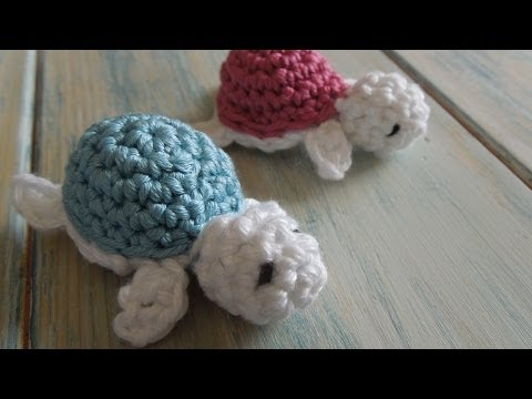 (crochet) How To - Crochet a Baby Turtle - Yarn Scrap Friday