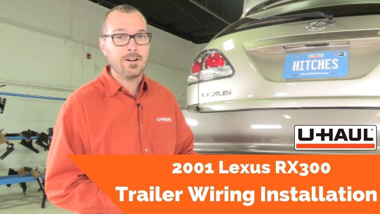 2001 lexus rx300 trailer wiring installation [ 1280 x 720 Pixel ]