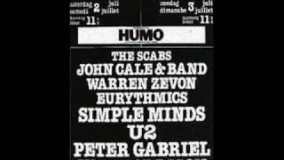 Simple Minds - Thirty Frames A Second - Werchter Belgium 3rd Jul 1983