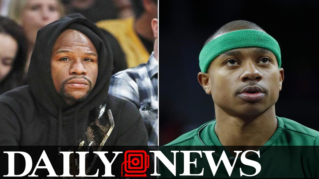 Floyd Mayweather Shows Off New Pile Of Cash From Isaiah Thomas Bet
