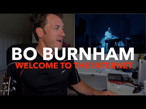 Guitar Teacher REACTS: Welcome to the Internet – Bo Burnham | Lesson + Tutorial (kind of)