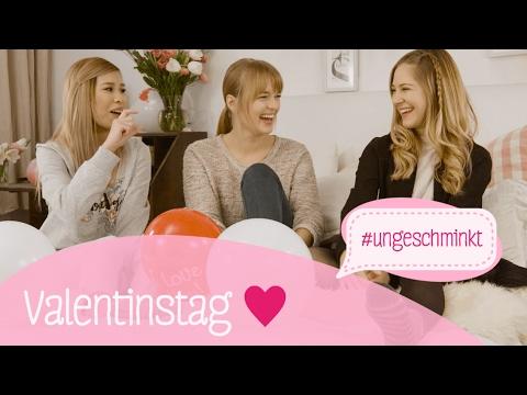 Valentinstag-Tipps mit Cinderella   #ungeschminkt mit Diana zur Löwen, Kisu und Giulia Groth