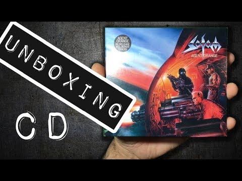 Unboxing CD Sodom - Agent Orange 2 CDS 2013