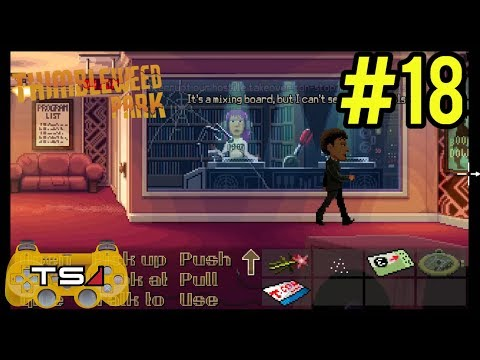 GETTING A LAWYER!! - THIMBLEWEED PARK - HARD MODE (BLIND) #18