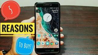 5 reasons to buy Huawei Honor 8 Lite!