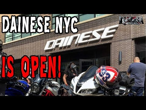 Grand Opening Dainese Store NYC!