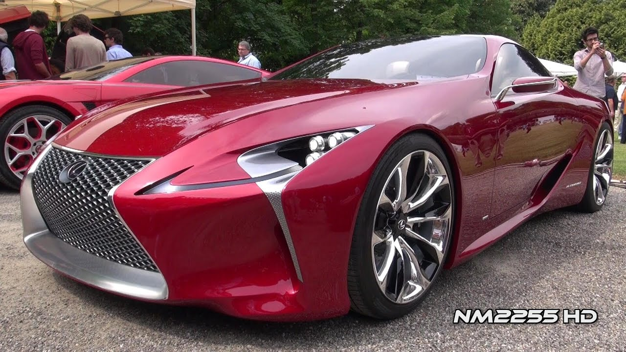 lexus lf lc luxury sports coup concept youtube. Black Bedroom Furniture Sets. Home Design Ideas