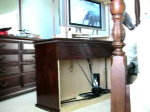 Homemade Tv Lift
