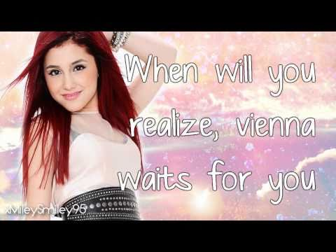 Ariana Grande - Vienna (with lyrics)