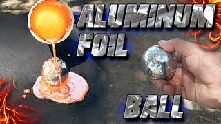 connectYoutube - Molten Copper vs Polished Aluminum Foil Ball