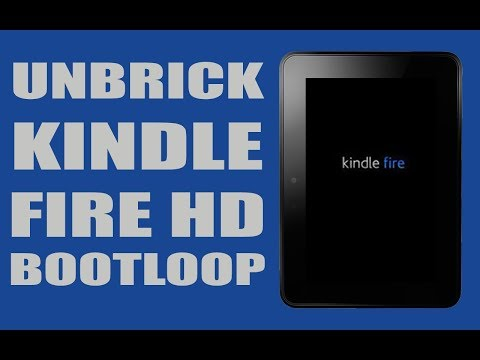 How To Fix a Soft Bricked Kindle Fire HD Stuck in a Boot Loop | RC Films