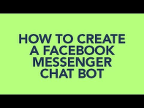 How to Create a Facebook Messenger Chatbot Using Chatfuel without Coding