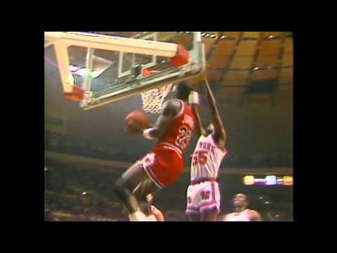 Michael Jordan Rookie Highlights