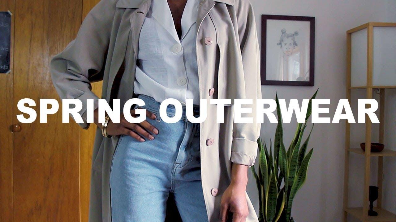 Spring 2019 Outerwear Essentials | Lookbook & Inspiration 2