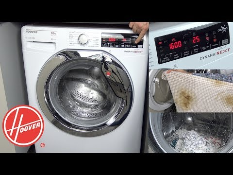 Hoover Dynamic Next Washing Machine Review & Demonstration