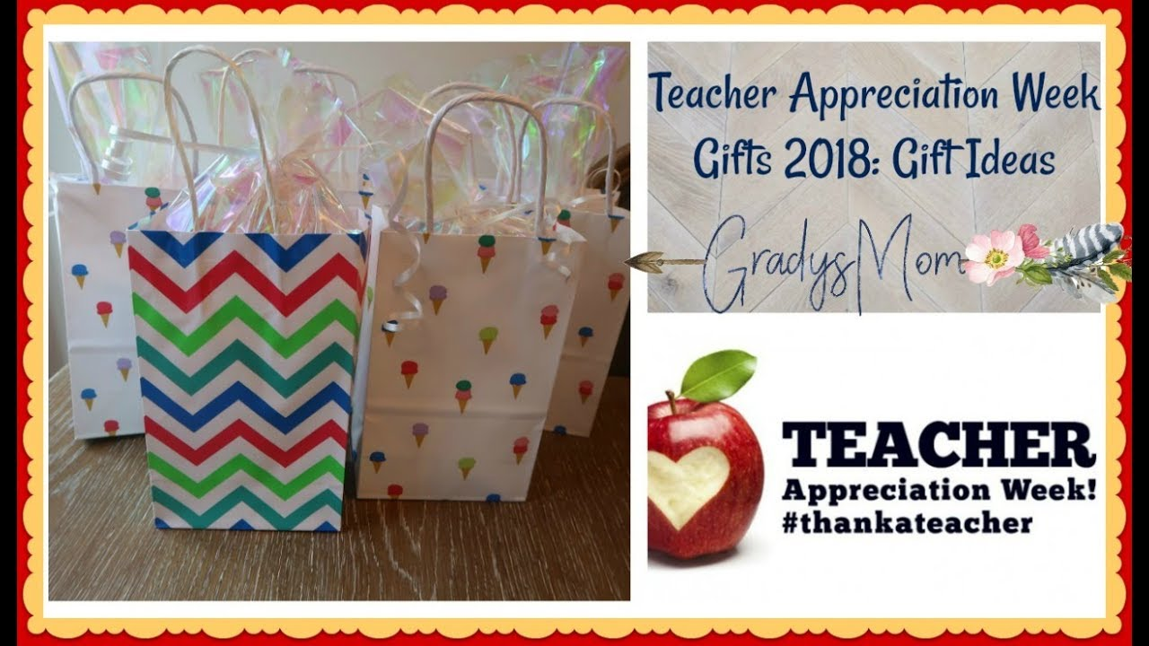 teacher appreciation week gifts what i am giving my sons teachers