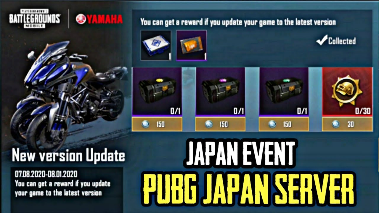 HOW TO CONNECT JAPAN SERVER IN PUBG KOREA VERSION FREE YAMAHA BIKE RECALL CRATE OPENING