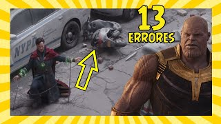 13 Errores en Avengers: Infinity War que Nunca Notaste (Movie Mistakes)