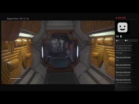 MissSephy's Alien Isolation livestream