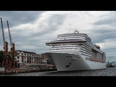 Cruise ship begins Silk Road sea route journey from Italy