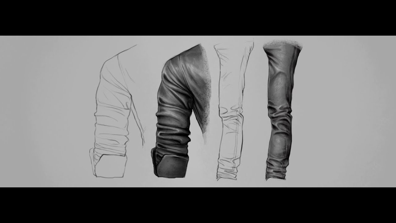 It is a photo of Genius Drawing Clothes Tutorial