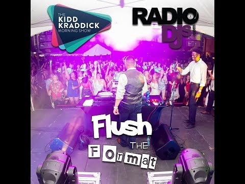 Flush The Format on the Kidd Kraddick Morning Show - 3/23/18