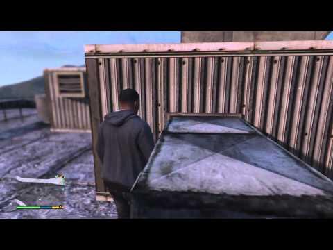 GTA 5 Buzzard Location Story Mode (funny Moments GTA5)
