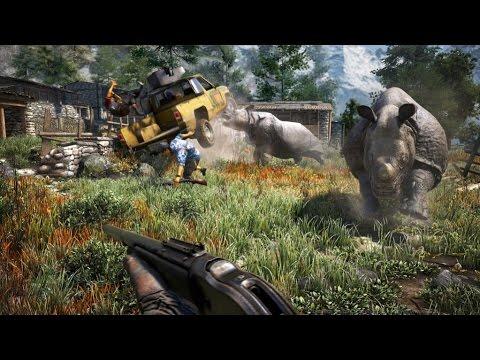 Фар Край 4 на ПС4 - Охота на носорогов