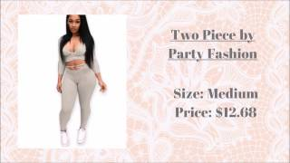 Cheap Clothing: AliExpress Try-On Less than $13.00