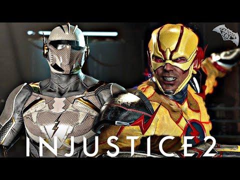 Injustice 2 Online - GODSPEED VS REVERSE...