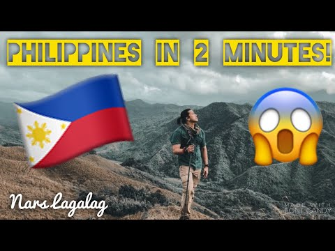 10 Philippine Province in 2 Minutes. - Create your own adventure.