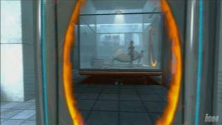 Portal: Still Alive  Xbox Live Gameplay - First Level