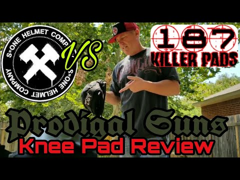 Skateboarding Knee pad , SOne VS Killer 187  Pro Knee Pads. from a OGs perspective.