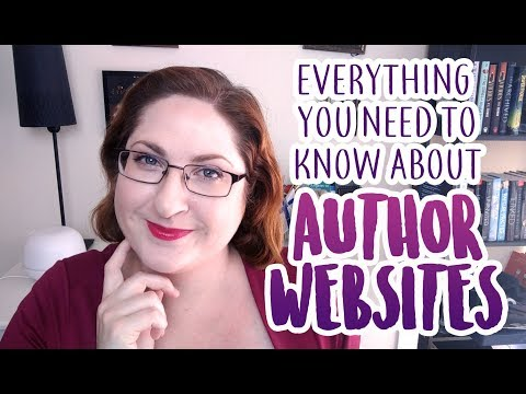 How To Build An Author Website