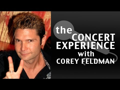 Corey Feldman Interview   AfterBuzz TV's Concert Experience