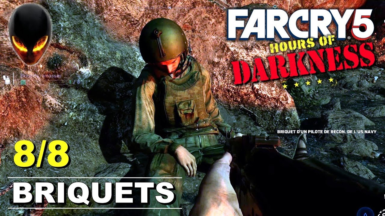 Far Cry 5 Dlc Hours Of Darkness Briquets 8 8 Localisation Position Youtube
