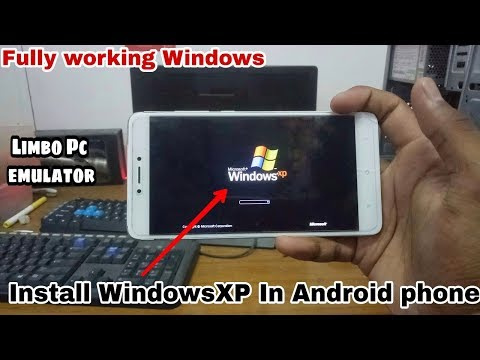How To Install Windows XP In Android Phone | Windows XP Limbo | Run Windows XP In Android