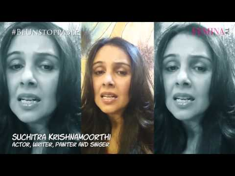 Talented Suchitra Krishnamoorthi has a message for women