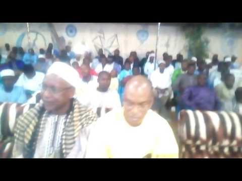 Gamou grand dakar chant thierno ama dana seyeidy 2016