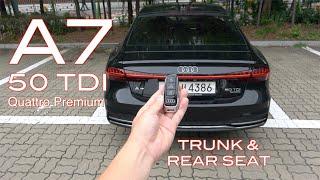 더 뉴 아우디 A7 50 TDI 콰트로 프리미엄 트렁크&2열(The New Audi A7 50 TDI quattro premium trunk & rear seat)
