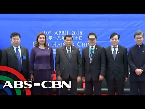 The World Tonight: Duterte touts PH's infra projects in Boao forum