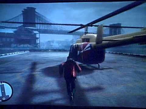 GTA IV BOGT - Heli Tour & Fall
