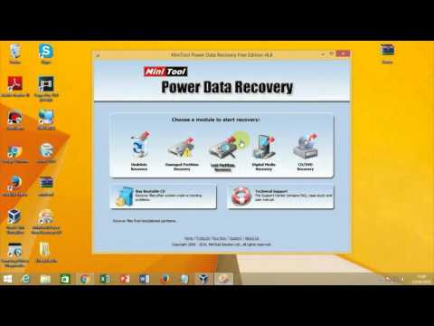 Como Recuperar Dados Com Mini Tool Power Data Recovery (2016)