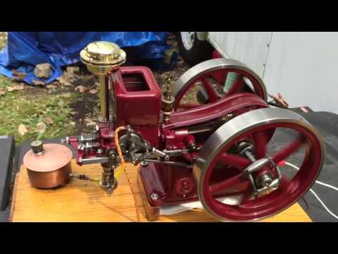 1/3rd scale Associated Hit and Miss model engine