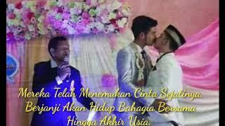 LGBT!!! Pernikahan Sesama Jenis Layaknya Mempelai Pria & Wanita Yang Sangat Romantis   Thailand