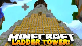 Minecraft LADDER TOWER PARKOUR! (Epic Fun Map!) | w/PrestonPlayz