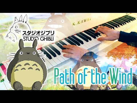 🎵 Path of the Wind (Totoro となりのトトロ) ~ Piano cover played by Moisés Nieto
